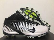 huge discount 4085f 3c58f Nike Air Zoom Alpha Talon Td 3 4 Football Cale Blanc Noir Sz 15