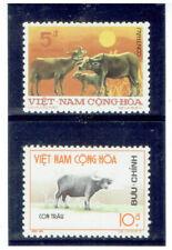 VIET NAM (South) 1973 Water Buffalos (Fauna)