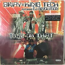 SWAY & KING TECH - THIS OR THAT (VINYL 2LP) 1999!! RARE!!  RZA + XZIBIT + EMINEM