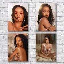 Rihanna Poster A4 NEW Diamonds Stay Work Sexy Hot Woman #1 Home Wall Decor