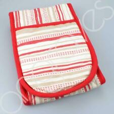 Double Oven Gloves Red & White Stripe Striped Stripy Kitchen Cooking Thick