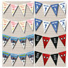 Personalised Children's Birthday Party Banner Bunting Lots Of Designs Decoration