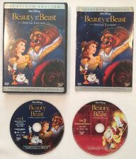 BEAUTY AND THE BEAST (2-Disc DVD RARE Disney Animated) Special Platinum Edition