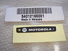 MOTOROLA APX2000 APX4000 (1 knob) BLUETOOTH NAMEPLATE LABEL 54012196001 FREESHIP