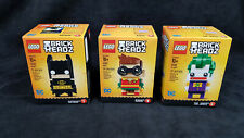 New LEGO Brickheadz Batman 41585 Robin 41587 The Joker 41588 DC Super Heroes