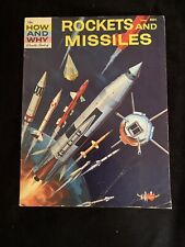The how and why wonder book of rockets and missiles VINTAGE RARE 1st Print