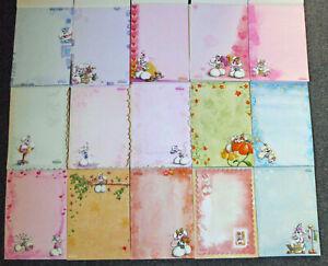 15 verschiedene Diddl Blockblätter DIN A4 (Set 6) - bunte Blätter aus Nr. 80-120