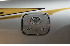 For Toyota RAV4 2006-12 Fuel Tank Cover Stainless Steel Car Styling Accessories