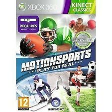 Xbox 360 Game Motionsports: Motion Sports Kinect Classics NEW