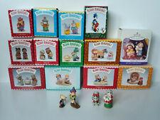 Lot of Vintage Hallmark Merry Miniatures + Ornament 1996-1998