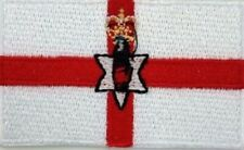 Northern Ireland Flag Small Iron On / Sew On Patch Badge 6 x 3.5cm NI