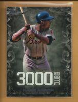 Hank Aaron 2016 TOPPS 3000 Hits Club Insert Card # 3000H-3 Atlanta Braves