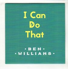 (HB288) Ben Williams, I Can Do That - 2015 DJ CD