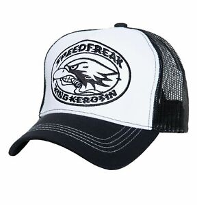 King Kerosin Trucker Cap Speedfreak mit Stickerei Unisex Meshcap Snapback Retro