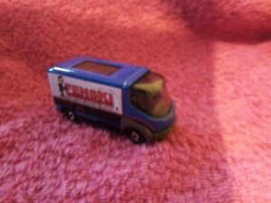 Matchbox - 1-125 - Unboxed - #6 Modec Electric Delivery Van - Blue (Cylinders)