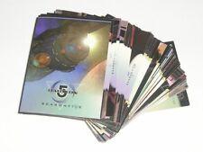 Babylon 5 Season 5 - 81 Card Basic/Base Set From Skybox