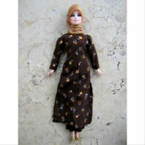 Fulla Doll Clothes Muslim Doll Clothes Handmade Islamic Doll Clothes Hijab