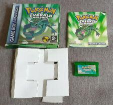 Nintendo Game Boy Advance Game Pokemon Emerald Boxed with Manual
