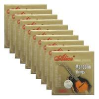 10Sets Alice Mandolin Strings Coated Copper Alloy Wound EADG  8 Strings Set AM05