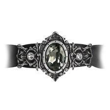 Alchemy Gothic, St Petersburgh Tear Ribbon Bracelet, A113, Swarovski crystal