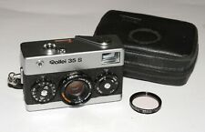 Rollei 35S Compact 35 mm Film Camera with Carl Zeiss Sonnar 40mm 2.8 lens