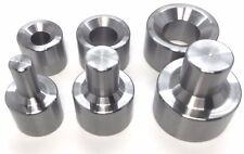"""Dimple Die Set 3 Piece   1/2"""" /   3/4"""" / 1"""" metal fabrication tools"""