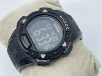 Timex Expedition SHOCK Watch Black Sport Digital Multi Function Wristwatch