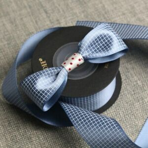 1 Roll Printed Diy Hair Ribbons Bow Gift Packing Decoration Material Polyester