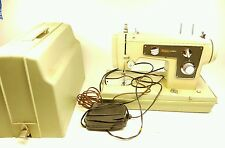 vintage sears kenmore sewing machine in case