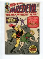 Daredevil #4 FN/VF 7.0 PURPLE MAN! 1964! FREE SHIPPING!