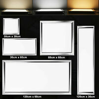 1x4 2x2 2x4(FT) 64W-12W LED Troffer Panel Light Recessed Dropped Ceiling Fixture