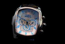 Invicta 12644 Grand Lupah Quartz Tonneau Watch Set  w/ Five-Piece Soft Leather