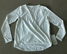 Lululemon WHITE Full Freedom Long Sleeve Top. Size 6. Brand New With Tags.