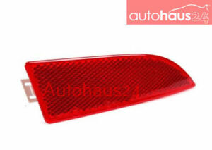 BMW X3 2004-2010 REAR BUMPER COVER LEFT REFLECTOR RED NEW GENUINE OEM