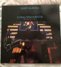 Gary Numan signed 4 times Living Ornaments 1979 and 1980 LP Box Set.