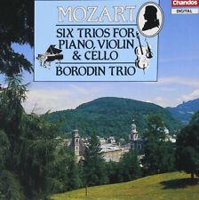 Mozart: Six Trios for Piano, Violin & Cello - 2CDs+Booklet - Borodin Trio