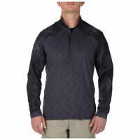 5.11 Tactical Men's Rapid Half Zip Long Sleeve Shirt, Moisture Wicking, # 72444