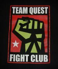 TEAM QUEST -  FIGHT CLUB - Men's size M - Graphic T-Shirt