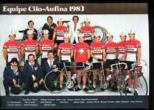 Team Cilo Aufina 83 Cycling tour suisse swiss cyclist Seiz Hubert Zimmermann urs