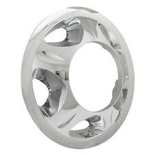 "NEW 2008-2010 Silverado 3500 1-ton Dually Front 17"" Wheel SIMULATOR Liner CHROME"