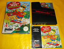 THE SIMPSON BART VS. THE SPACE MUTANTS Nintendo Nes Versione PAL A ○○○○ COMPLETO