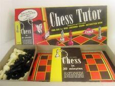 Loew Vintage 1972 Chess Tutor King Size Complete Boxed Set, Learn in 30 Minutes