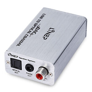 Headphone Amplifier USB Coaxial Optical DAC HiFi Audio Decoder Digital Amp