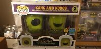 Funko POP! The Simpsons - Kang and Kodos (Glow in the Dark) SDCC Exclusive