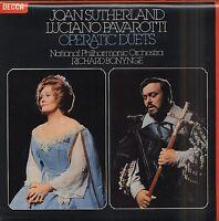 JOAN SUTHERLAND LUCIANO PAVAROTTI Operatic Duets UK Vinyl LP EXCELLENT CONDITION