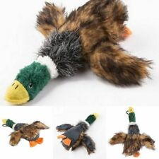 Duck Pets Squeaker Durable Chew Stuff Toys Plush Accessories Supplies Kit New