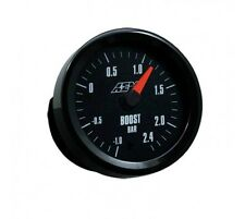 AEM Boost Gauge -1 to 2.4BAR with Analogue Face 30-5132M