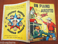 TEX GIGANTE 20 Araldo L 200 1962 UN PIANO ARDITO retro PICCOLO RANGER spillato