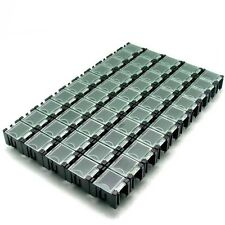 50 pcs Components Part Laboratory Storage Electronic SMT SMD Box SMT Anti-Static
