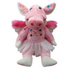 "SKANSEN CUDDLY KID ""SNORTELINA"" THE FLYING PIG BEAR MINT WITH MINT TAG"